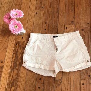 GAP white shorts - Size 12